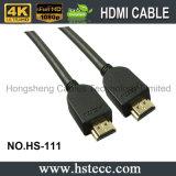 De Beveiliging van de vlecht en de mannelijk-Mannelijke HDMI aan HDMI Kabel van het Geslacht