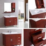 Australische Standardeichen-Badezimmer-Eitelkeit mit den Beinen u. Spiegel (B-8670)
