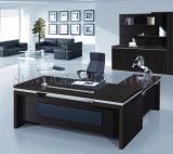 オフィスの使用(SZ-ODT623)のための安い木の家具表のL形の管理の机