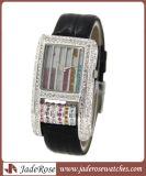우아한 다이아몬드 조정 시계 형식 시계 (RA1233)