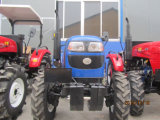 Huaxia CER Approved Farm Usage 40HP 4 Wheel Drive Cabin Tractor Mounted auf Loader/Mower/Trailer