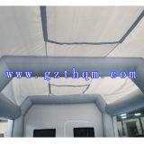Cabina gonfiabile gonfiabile della tenda della cabina di spruzzo/della vernice di spruzzo stazione di lavoro di qualità