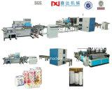 Cadena de producción automática completa de Rolls del papel de tejido de tocador surtidores