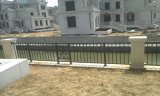 Конструкция загородки сада скрининга утюга зеленой искусственной изгороди сада стальная