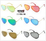 Sale chaud Metal Sunglasses avec du CE de Stainless Steel Frame, FDA