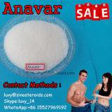 Polvere steroide grezza anabolica orale iniettabile Anavar Oxandrolone