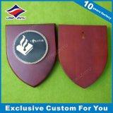 Placas de madera del blindaje de diverso del diseño del recuerdo metal del bastidor