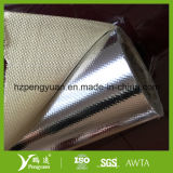 De met een laag bedekte Aluminiumfolie van de Isolatie van de Hitte van de Glasvezel
