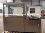 Fillling Capping Line를 가진 자동적인 Glass Bottle Ultrasonic Washing Machinery