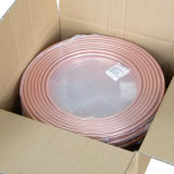ASTM B280 Soft Temper Pancake Coil Copper Tube in Refrigeration