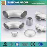 aço inoxidável industrial Sch40 de 4 polegadas de 304 316 Ss cotovelo de 90 graus
