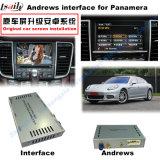 Surface adjacente androïde de navigation de véhicule pour Porsche-Macan, Cayenne, Panamera ; Améliorer la navigation de contact, le WiFi, BT, Mirrorlink, HD 1080P