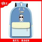 (KL1504) Nuova fabbrica dello zaino di marca di Kul del sacchetto della tela di canapa dei bambini di disegno a Guangzhou