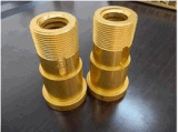 Water Heating FittingsのためのPrecision高いCNC Milling部品Hardware