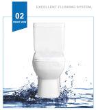 Keramisches Weidansi waschen unten Brücke zwei Stücke der Toiletten-(WDS-T6207)