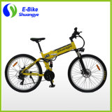 26 polegadas 36V 250W 350W Folding Mountain bicicleta elétrica