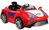 Fahrt der Kind-RC auf Auto mit Zug Rod