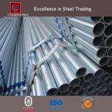 1 tubo d'acciaio tuffato caldo '' di 1.2 '' Galvanzied per costruzione