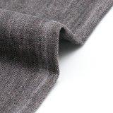 Tessuto di tela viscoso del denim di Tencel del cotone nero