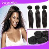 Tissage droit bon marché soyeux péruvien chaud de cheveux humains d'achat d'extension de cheveux humains de la vente 100%