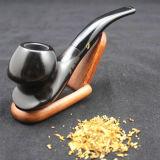 Tubo que fuma rentable del ébano del tabaco de madera durable de Weed