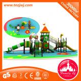 Tube Bridge e Spiral Slide Digital Outdoor Plastic Children Playground