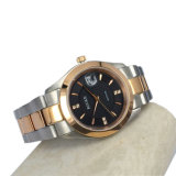 カスタム高品質のステンレス鋼の2調子の男の子のサイズの腕時計MW-14