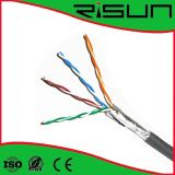 ホイルの盾Cat5e Cable/PVCのセリウム