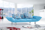 Cama de sofá plegable de la sala de estar de la tela