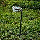 Indicatore luminoso solare del cortile (illuminazione verde)