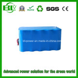 18650 Cells 18650 Battery Packの12V 16ah Electric Golf Trolley Lithium Rechargeable Battery Pack