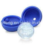 死のスターウォーズの球形の整形シリコーンの角氷の皿型