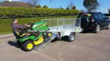 6X4 7X4 7X5 8X4 8X5 10X5 12X5 Hot Dipped Galv. Enige Axle ATV Trailer met Tilt