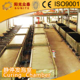 Bloques industriales de la buena calidad AAC que hacen la planta de la máquina AAC con servicio de ultramar