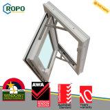 Rehau 60mm UPVCのプラスチック開き窓のWindows、PVC Windowsデザイン