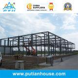Entrepôt préfabriqué de structure métallique de qualité