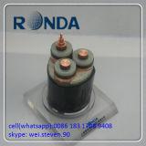 A alimentação fonte 25 o cabo elétrico de cobre de Sqmm 21kv