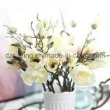 Цветок ретро Magnolia искусственний для украшения (SW04803)