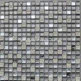Ice semplice Crackle Ceramic Mixed Glass Mosaic Tile con Marble
