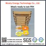 Refeição pronta para comer alimentos militares do aquecimento do auto do fornecedor dos alimentos da guerra