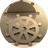 Cortadora del laser del metal de hoja del hierro del acero de carbón de la fuente 1kw