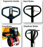 Beweglicher Handladeplatten-LKW-/Hand-Gabelstapler-Preis