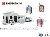 3 Dimensões Sac / Primário Shaping Non Woven Box Bag Making Machine