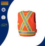 Hallo namelijk 150d het Vest van de Veiligheid van de Landmeter van de Polyester