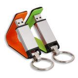 주문 로고 가죽 USB 2.0 운전사 512MB-128GB