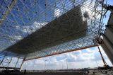 Hangar curvado cinc Pre-Dirigido del aeropuerto que cubre el hangar prefabricado
