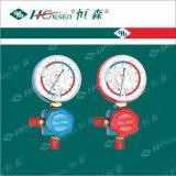 Комплект трехходовые клапан/штуцеры Refigeration/клапан/манометр рефрижерации