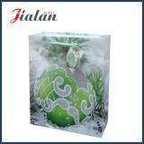 Выполненная на заказ бумага с покрытием с мешками подарка покупкы рождества яркия блеска