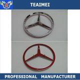 emblema auto del tronco de la divisa del coche del emblema del capo motor de la insignia del coche del cromo 3D para el Benz