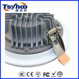 Diodo emissor de luz de fundição magro super Downlight do alumínio 10W 20W 30W SMD